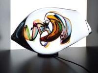 bijzondere mini urn verbonden in licht