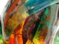 moderne urn glas kleur