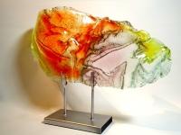 moderne urn glas vleugel