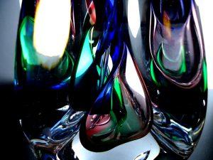 glazen druppel mini urnen