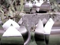rvs urnen roos en tulp