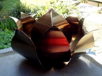 bijzondere urn roos rvs modern