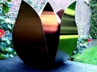 bijzondere tulp urn groot exclusief