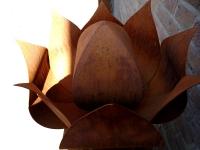 exclusieve moderne urn roos buiten