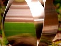 metalen urn tulp voor buiten
