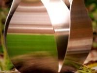 rvs urn tulp voor buiten