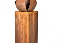 urn tulp roest zuil