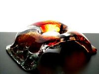 uniek gedenklichtje glas