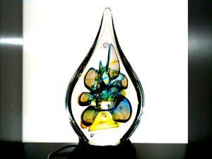 druppel urnen glas mini