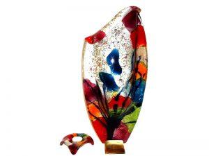 moderne urnen glas in kleuren