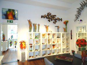 kunst galerie glas gedenkwinkel
