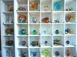 glazen mini urnen