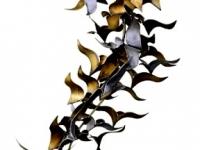 metaal gedenkteken vogels abstract