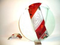 grote urn glas uniek