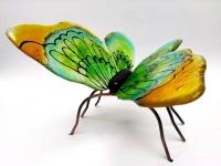 vlinder urn glas bijzondere glaskunst