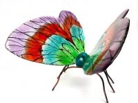 bijzondere glazen vlinder urn exclusief