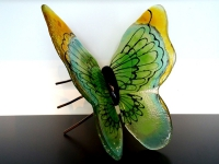 vlinder urn bijzonder exclusief glas