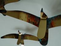 gedenk kunst voor wand vogels